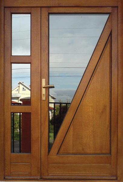usi exterioare de intrare din lemn stratificat