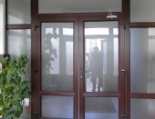 Usi exterioare balcon-terasa din PVC