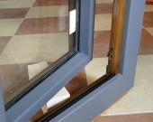 Usi exterioare balcon - terasa lemn-aluminiu